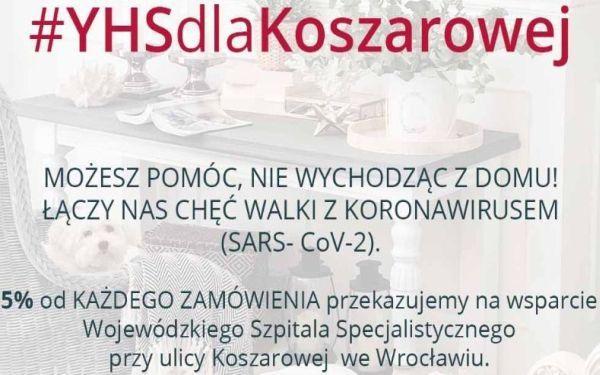 YHS dzieli się zyskami z Wojewódzkim Szpitalem Specjalistycznym we Wrocławiu