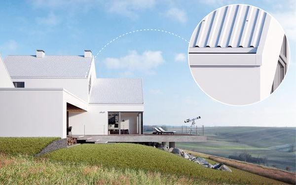 Wybieramy orynnowanie do nowoczesnego dachu. Rynny GALECO
