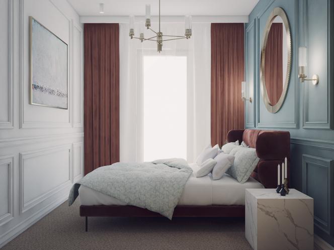 Lekkość eklektyzmu – sypialnia w wersji trzeciej